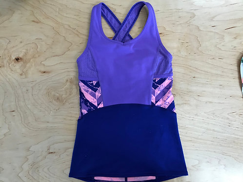 8 Girls Ivivva Purple Athletic Top