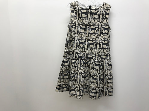 8 Y Crewcuts Girls Horse Print Dress