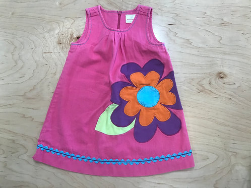 3 Y Hanna Andersson Girls Pink Dress