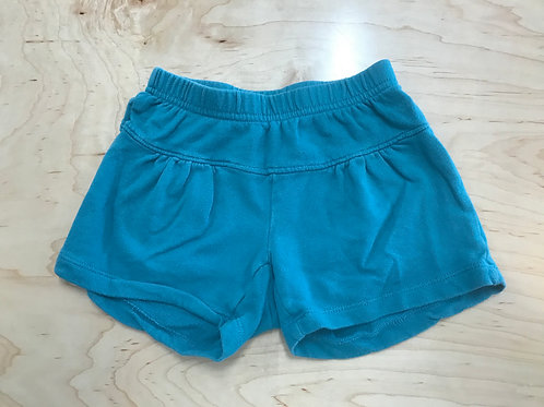 5 Y Tea Collection Girls Teal Shorts