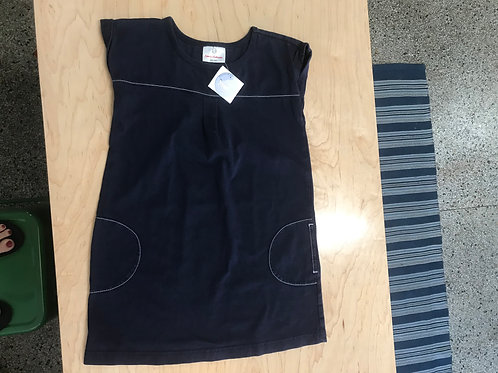 6-7 Y Hanna Andersson Girls Navy Dress