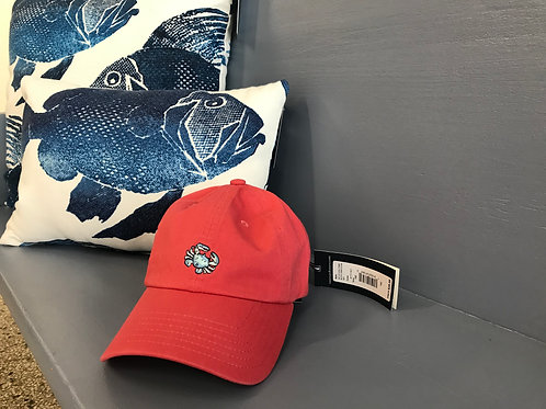 Vineyard Vines Boys Crab Icon Hat Jetty Red