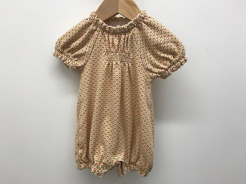 6-12 M Tea Collection Baby Girl Romper