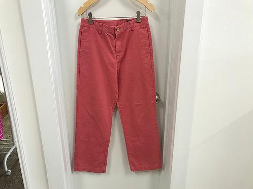 16 Vineyard Vines Boys Jetty Red Breaker Pants