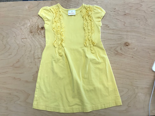 4 Y Hanna Andersson Girls Yellow Dress