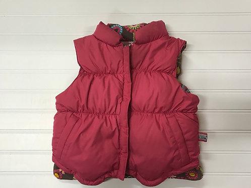 One Kid Down Reversible Vest- Size 4T