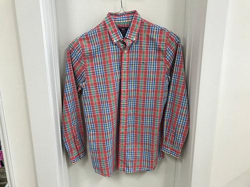 XL (18) Vineyard Vines Boys Whale Shirt Button Down