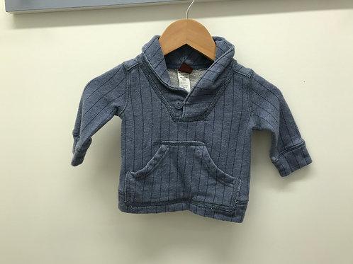 3-6 M Tea Collection Boys Blue Sweatshirt