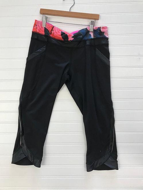 Lululemon Women's Cropped Athletic Leggings-Size 8