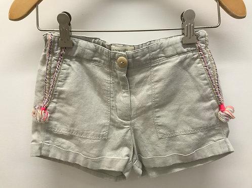 7 Y Crewcuts Girls Khaki Shorts