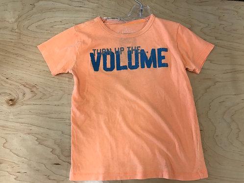 6/7 Y Crewcuts Boys Orange T-Shirt