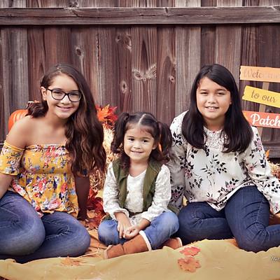McKayla, Eliana & Ale'sandra Fall Mini Session