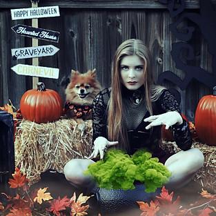 Kayla & Bella Halloween Mini Session