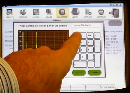 AcoustoCam i600 | Calibration