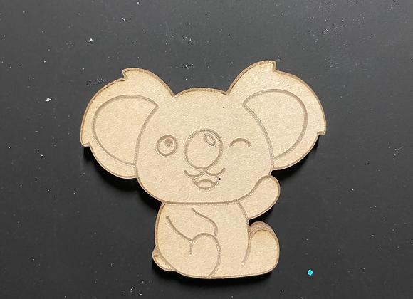 Koala silicone mold