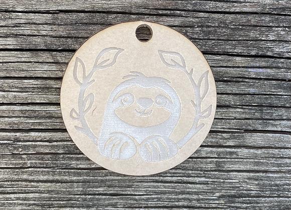 Sloth Keychain Mold