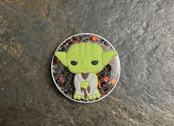 Yoda phone grip