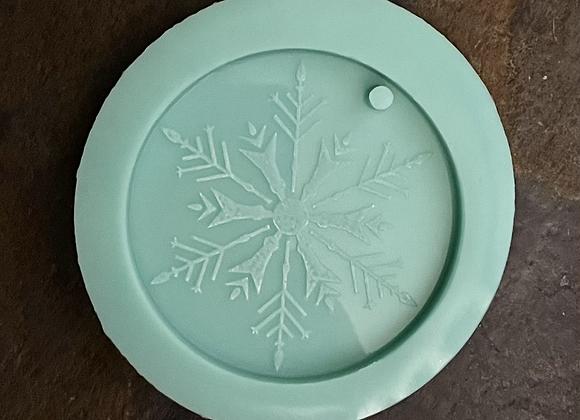Snowflake Christmas Ornament Mold