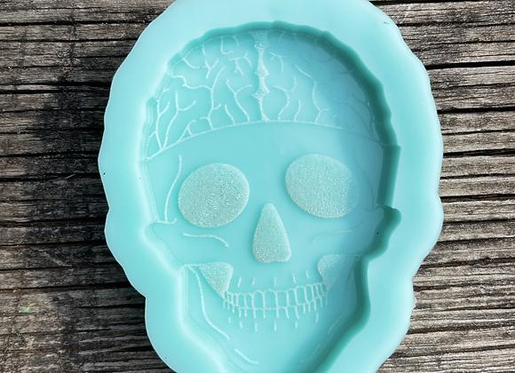 Skull with Brain Mold