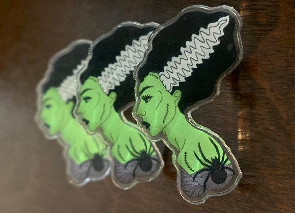 Spooky Bride Pin