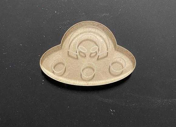 Alien ship silicone mold