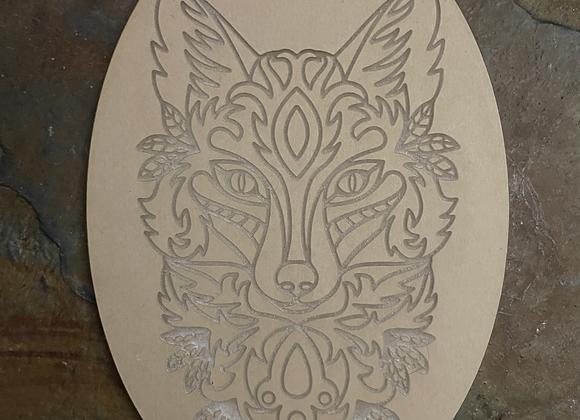 Mandala Fox Mold