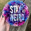 Thumbnail: Stay Weird Wall Decor