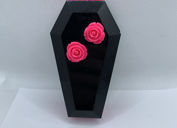 Hot Pink Coffin