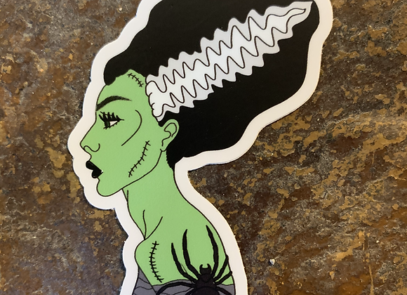 Spooky Bride Sticker