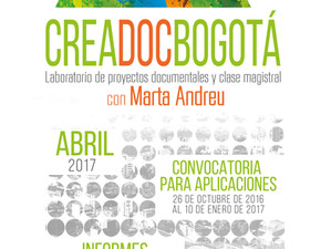 CreaDocBogotá con Marta Andreu