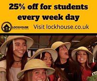 LockHouse Escape Games Freshers Fair Dis