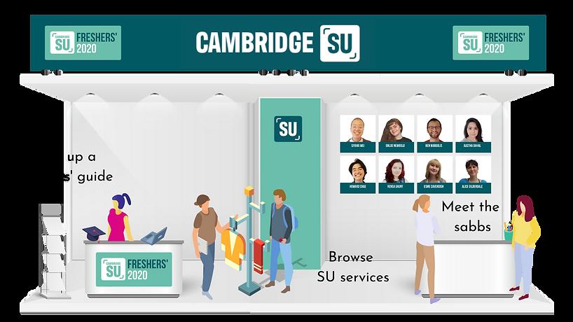 CAMBRIDGE SU BOOTH
