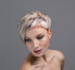 Hair makeup photoshoot