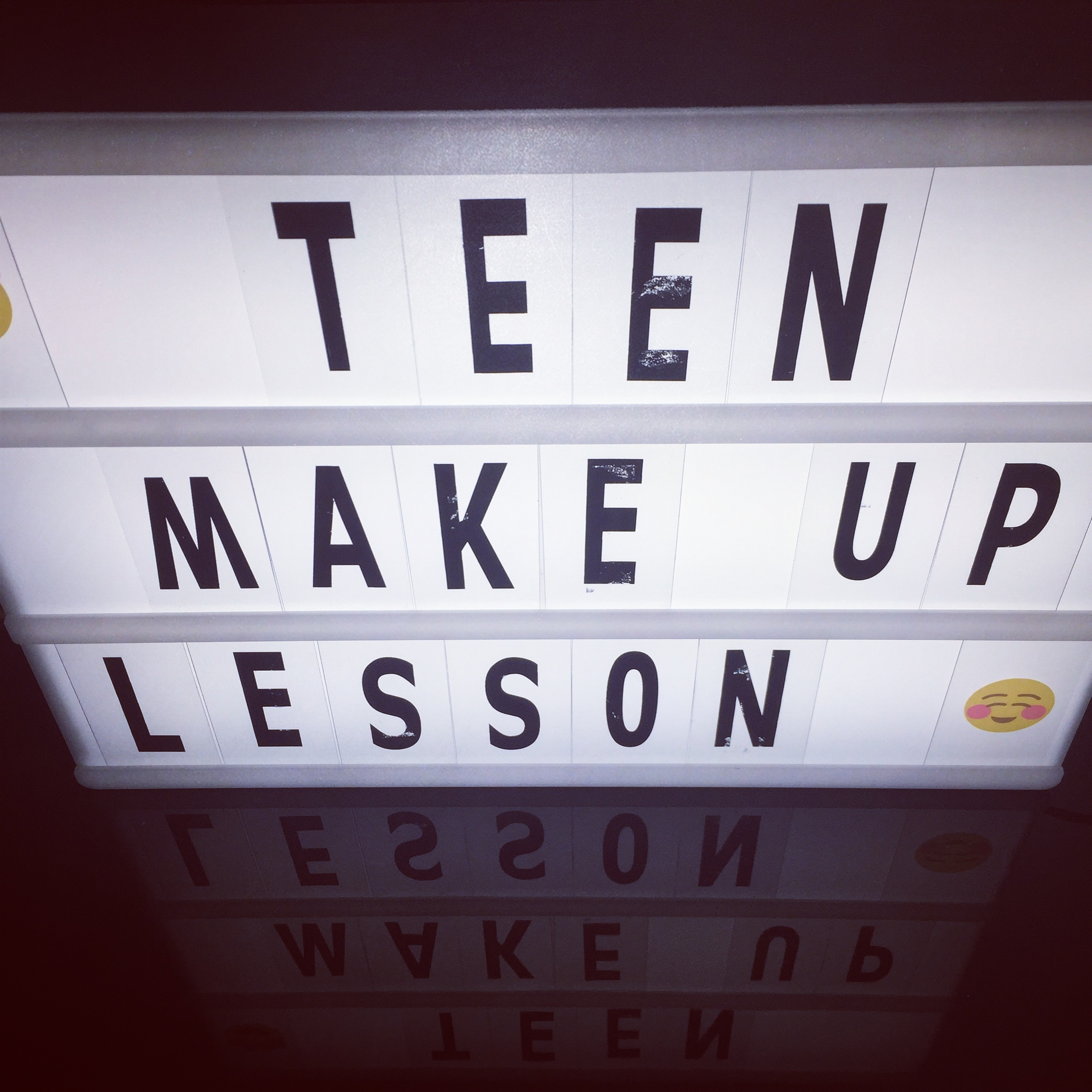 teen makeup lesson