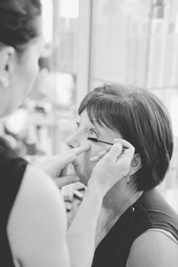 wedding makeup trail