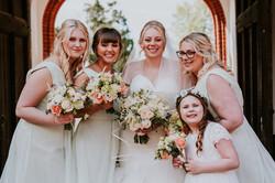 bridesmaids makeup essex