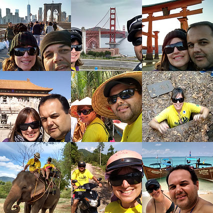 Imagens de Volta ao Mundo do Viaje na nossa Trip