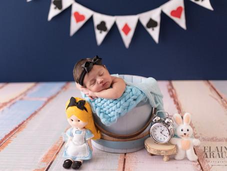 Ensaio Newborn Alice