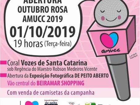 01/10 - Abertura Outubro Rosa - Beira Mar Shopping