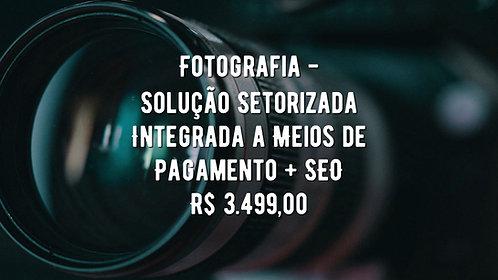 Fotografia - Solução Setorizada Integrada a Meios de Pagamento + SEO