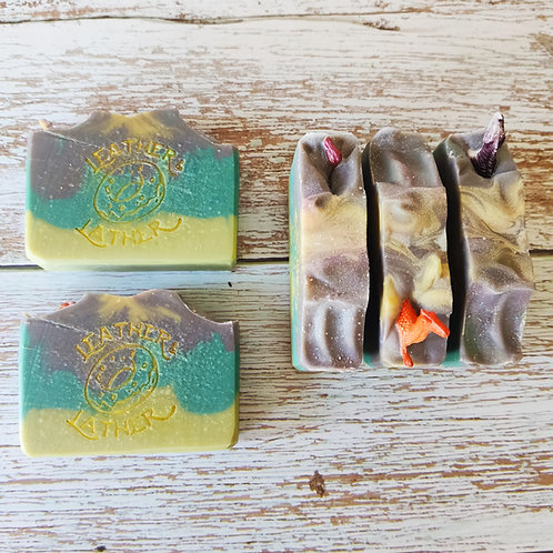 Applesaur Cold Process Soap