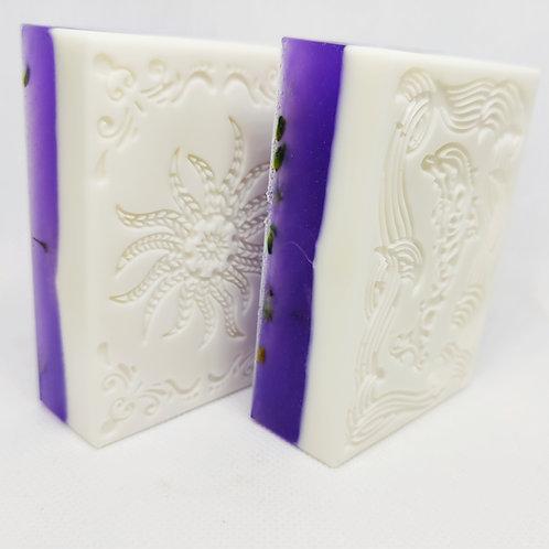 Lavender Loofah Bars