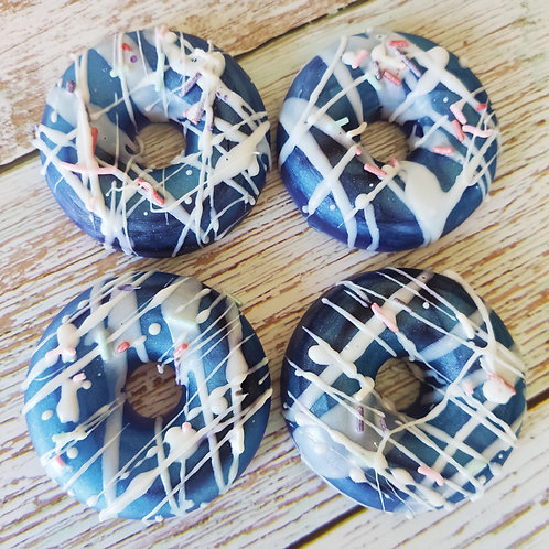 Galaxy Apple Donut Soap