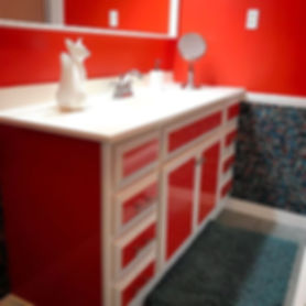 Another bathroom makeover complete. Resu