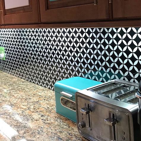 mid century modern tile