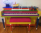 Painted the piano a few months ago, but
