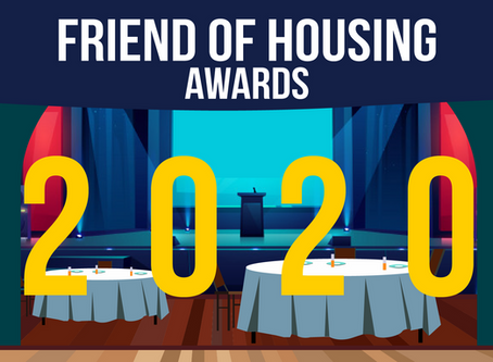 Congratulations to Our 2020 Friend of Housing Awardees!