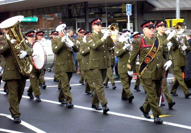 Marching through Takapuna.jpg