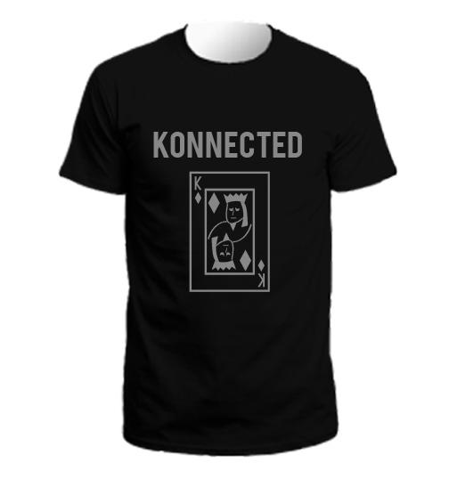 Konnected king card  tshirt
