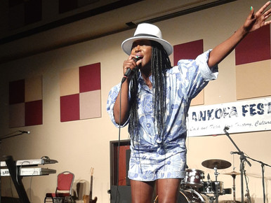 National Recording Artist Tweet Performs Live At Sankoha Festival